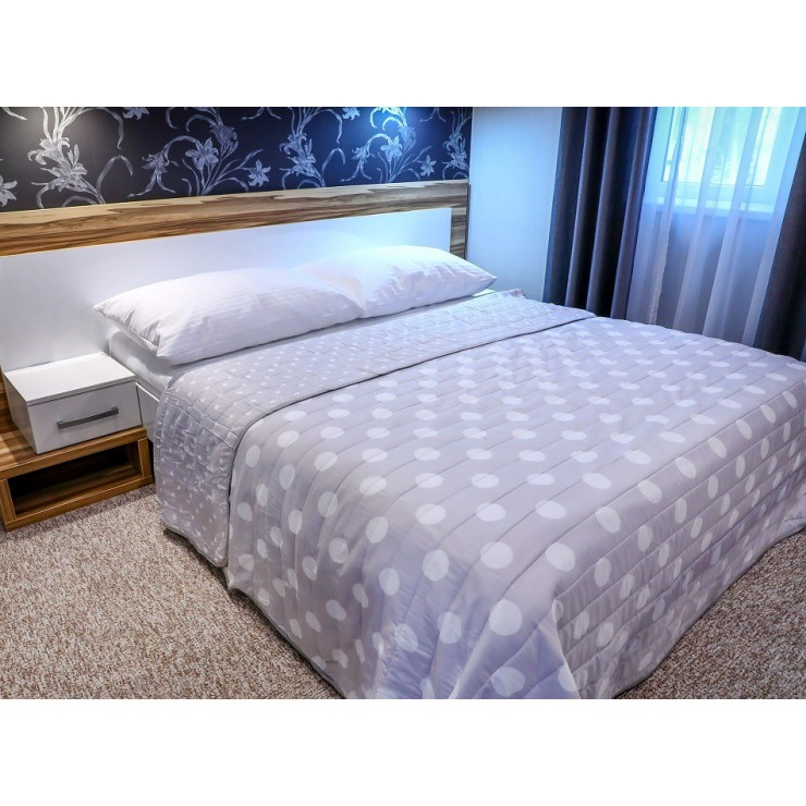 Prehoz na posteľ  701P Pois béžový Made in Italy