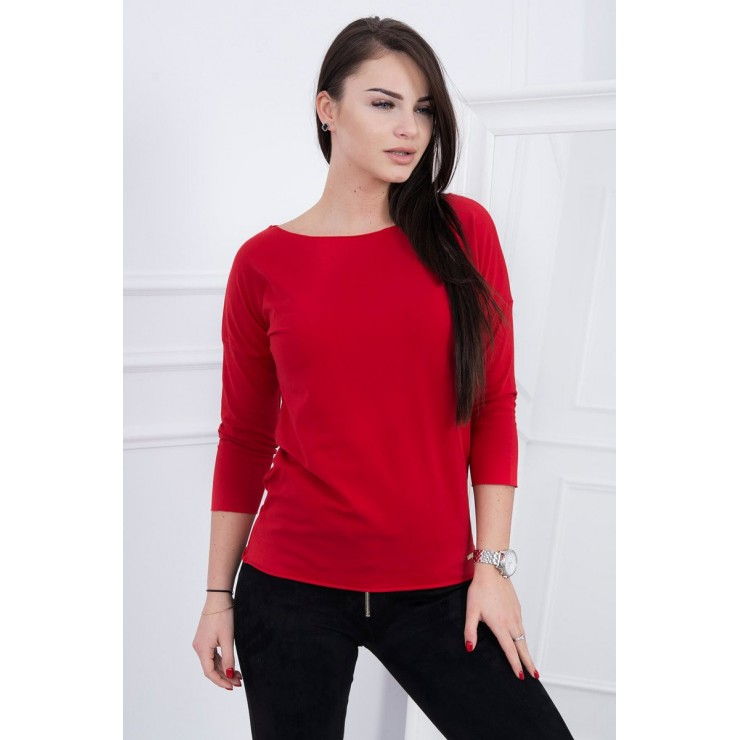 T-shirt CASUAL MI8834 red