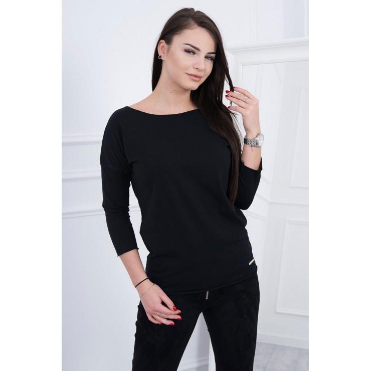 T-shirt CASUAL MI8834 black