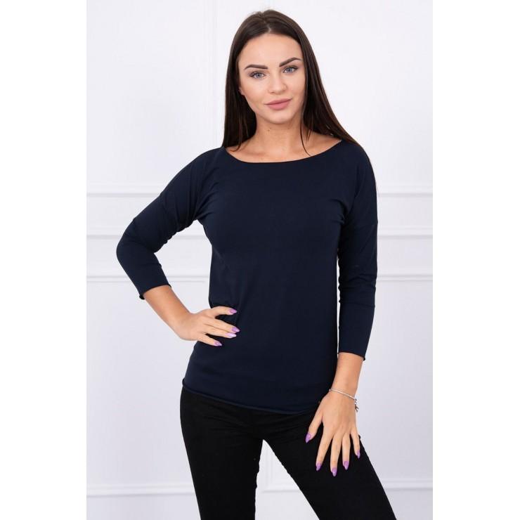 T-shirt CASUAL MI8834 dark blue