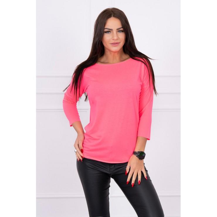 T-shirt CASUAL MI8834 pink neon