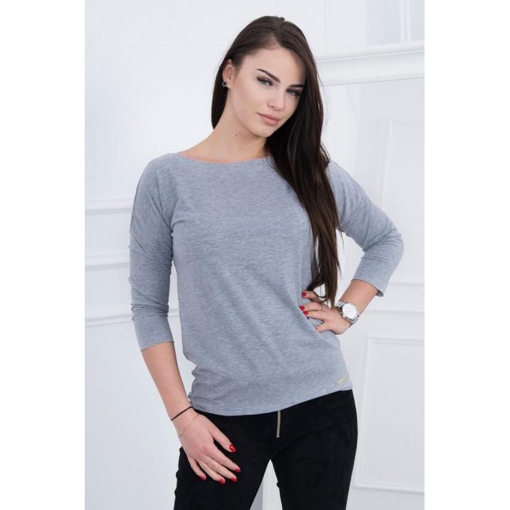 T-shirt CASUAL MI8834 gray