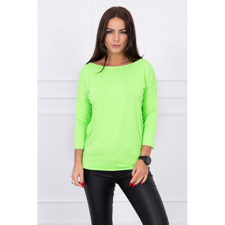 T-shirt CASUAL MI8834 green neon
