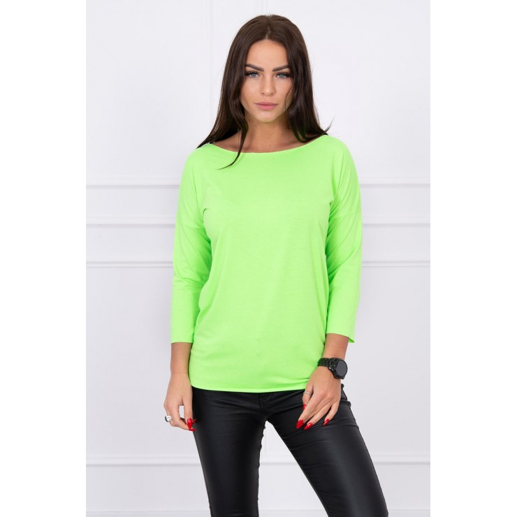 Tričko CASUAL MI8834 zelený neón