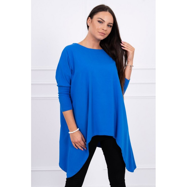 Extended tunic MI8875 blue