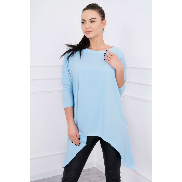 Extended tunic MI8875 light blue