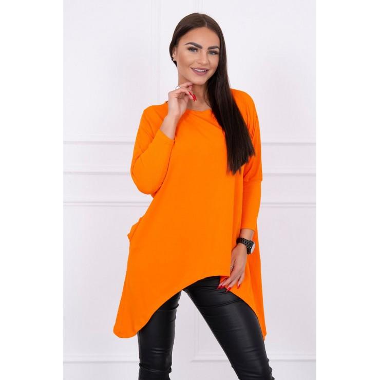 Extended tunic MI8875 orange