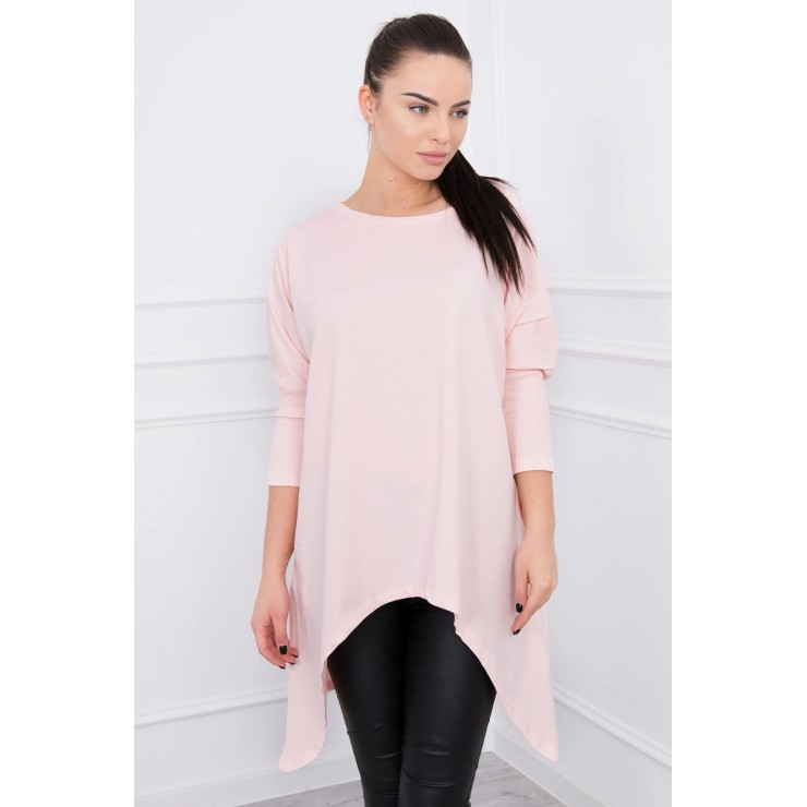 Extended tunic MI8875 powder pink