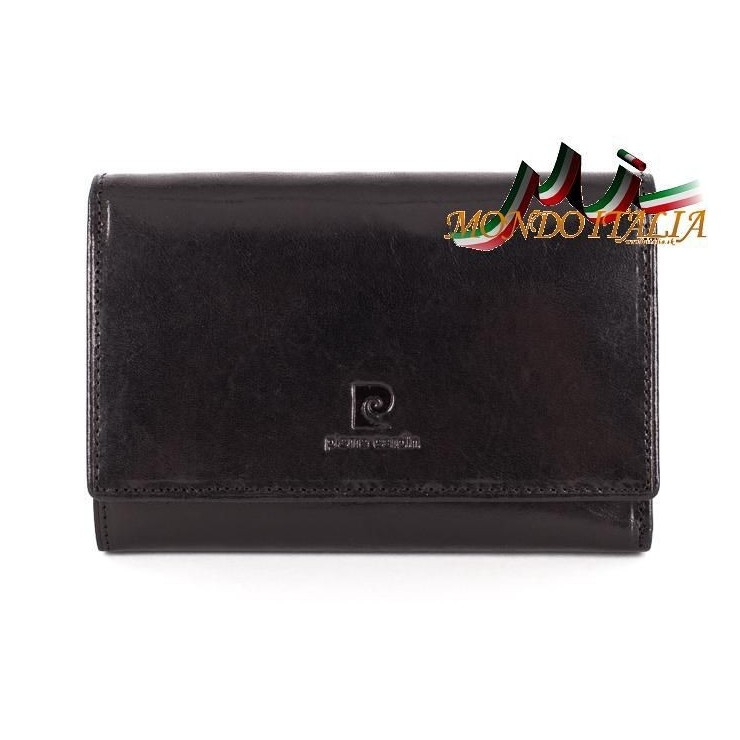 Woman genuine leather wallet P076 PSP02 PIERRE CARDIN