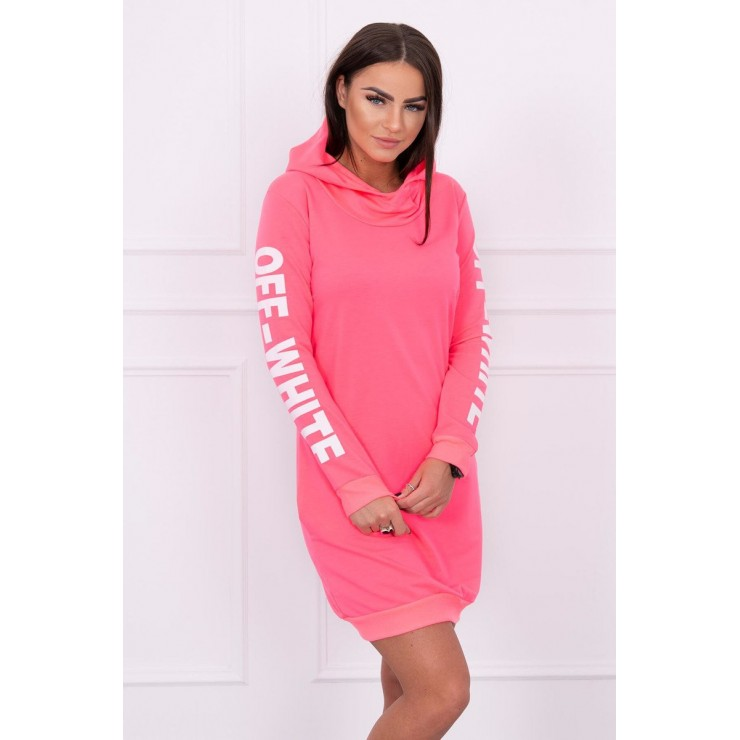 Dress Off White MI62182 neon pink