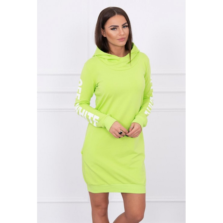 Dress Off White MI62182 light green