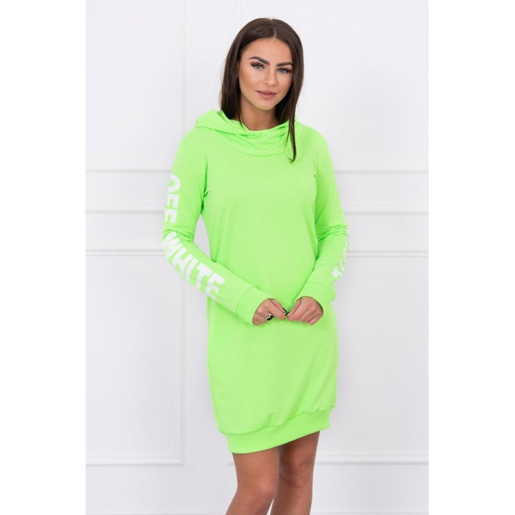 Dress Off White MI62182 green neon