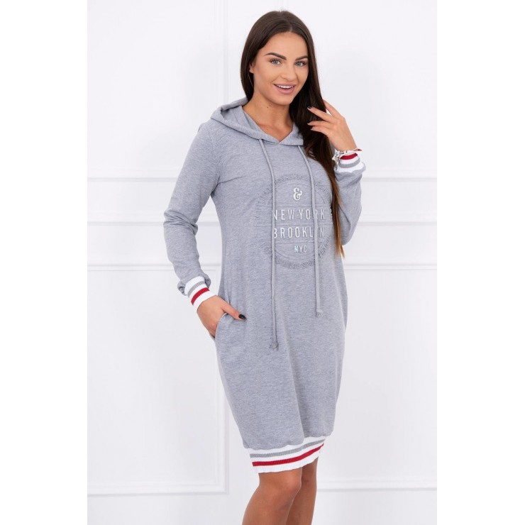 Ladies Dress Brooklyn MI62095 gray