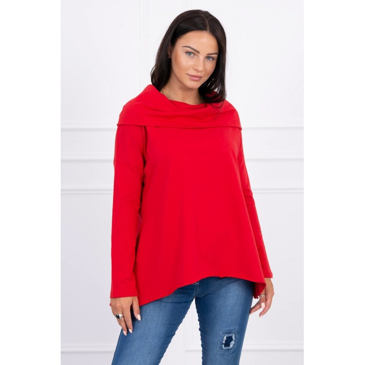 Hooded sweatshirt MI9003 red