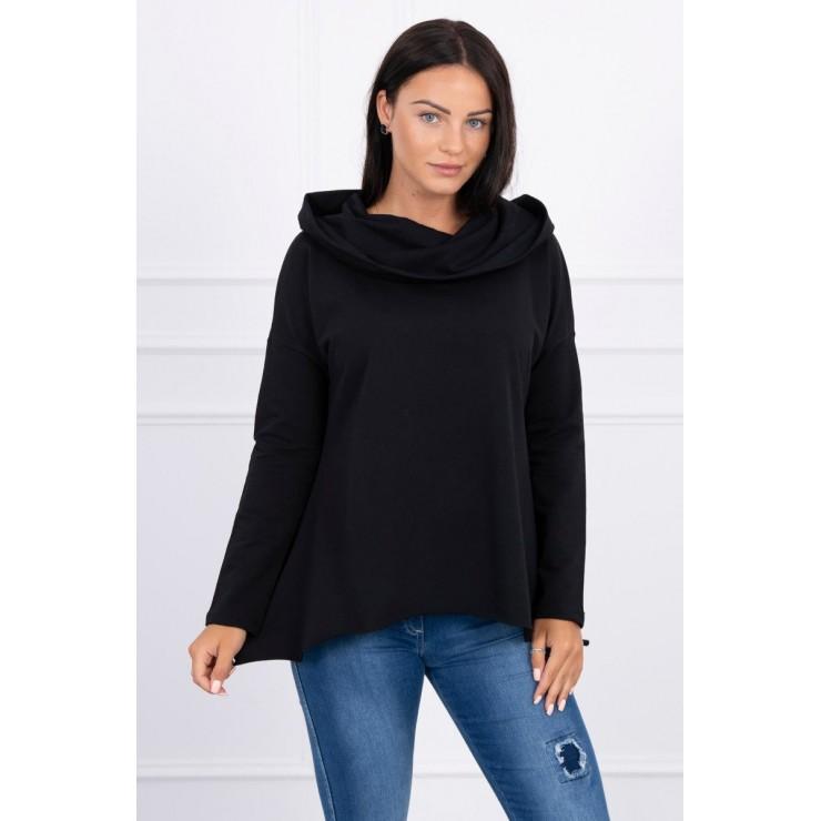Hooded sweatshirt MI9003 black