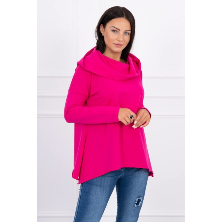 Hooded sweatshirt MI9003 fuxia