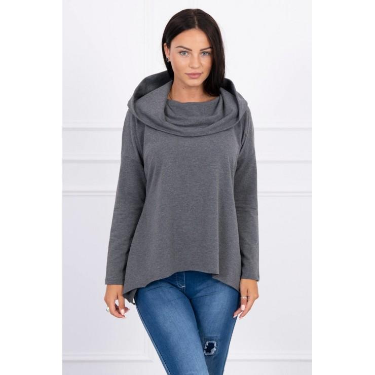 Hooded sweatshirt MI9003 graphite