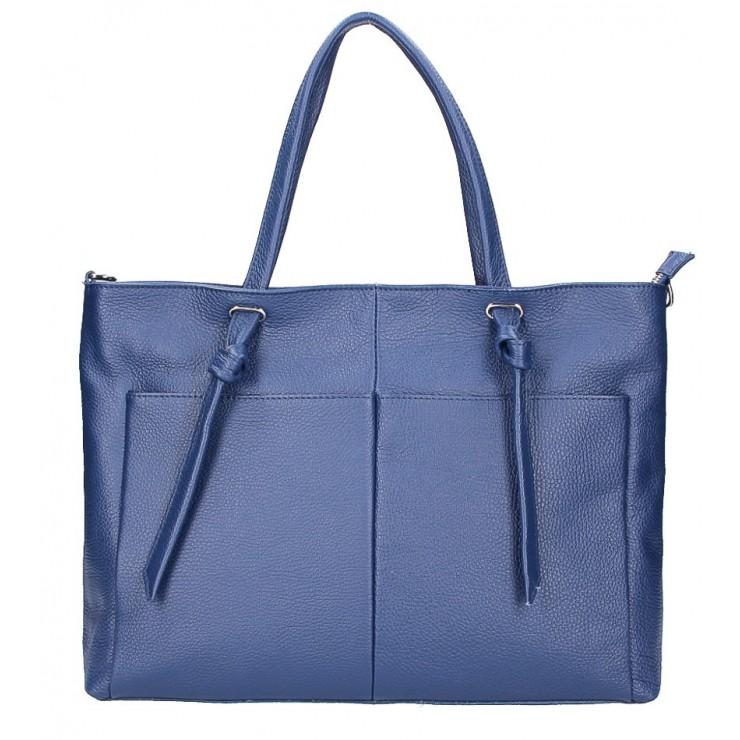 Shopper kabelka 5335 modrá