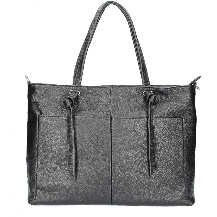 Shopper kabelka 5335 čierna