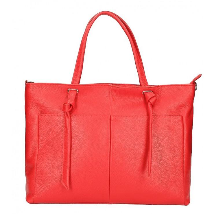 Shopper kabelka 5335 červená