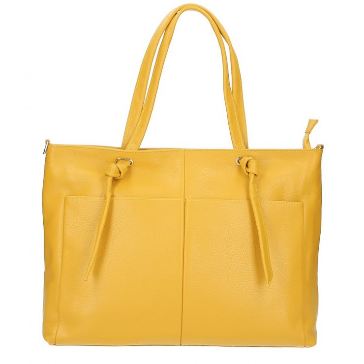 Shopper kabelka 5335 okrová