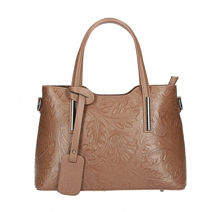 Kožená kabelka 1493 hnedá