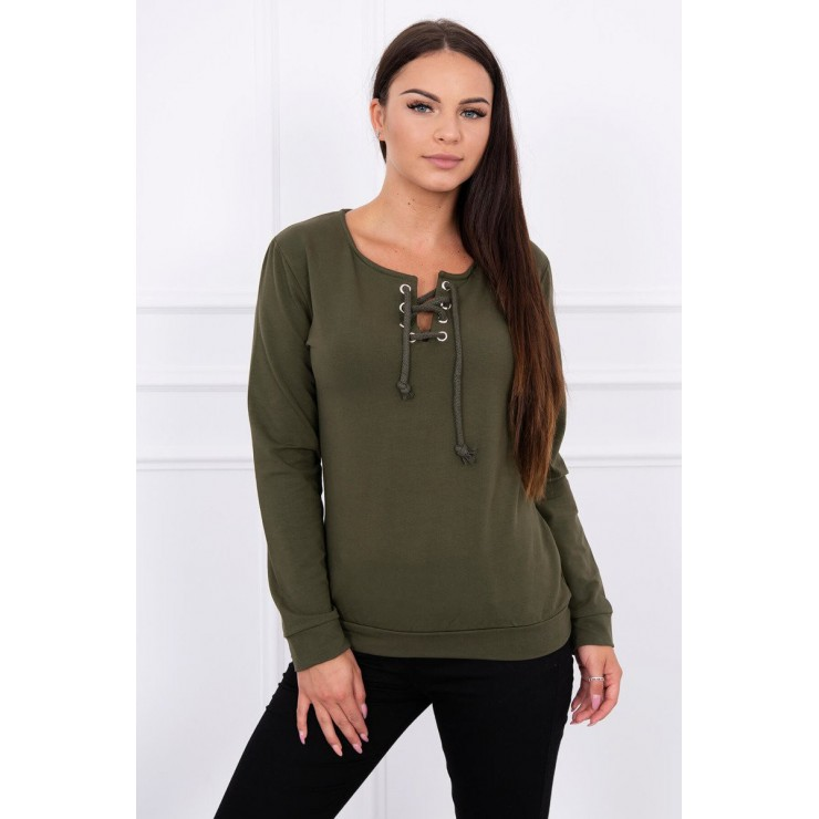Sweatshirt MI8793B green
