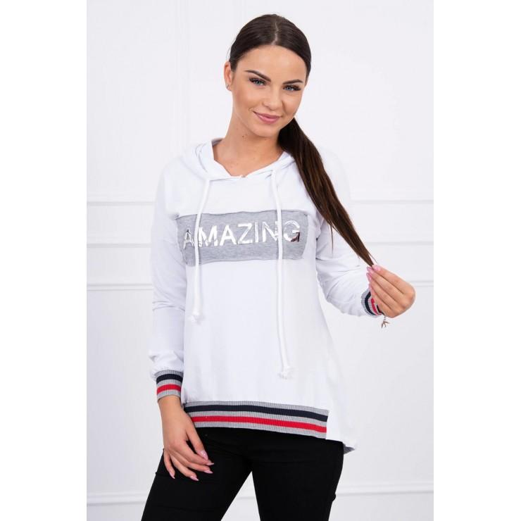 Ssweatshirt Amazing MI62096 white
