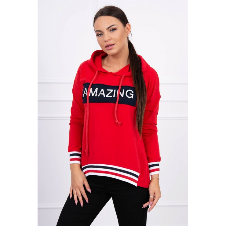 Ssweatshirt Amazing MI62096 red