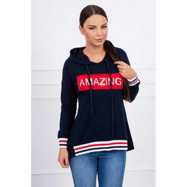 Ssweatshirt Amazing MI62096 dark blue