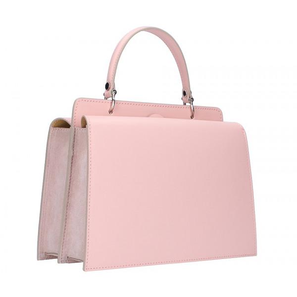 ef9c4c2d7a Kožená kabelka 5337 ružová - MONDO ITALIA s.r.o.