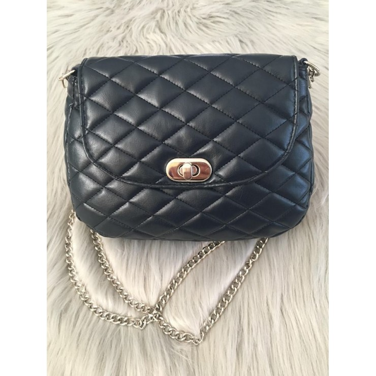 Woman Shoulderbag 1026 blue Made in Italy