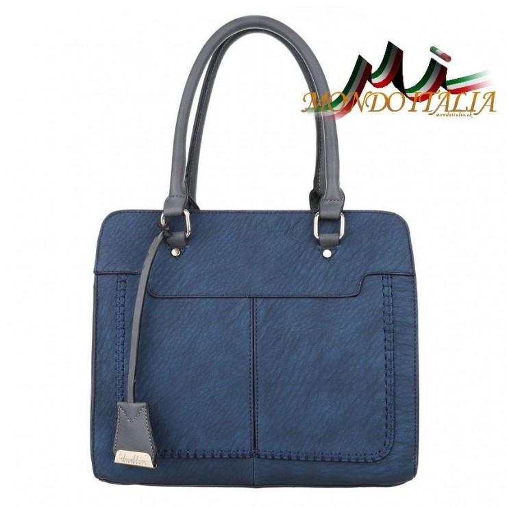 Dámska kabelka 1464 modrá Dudlin