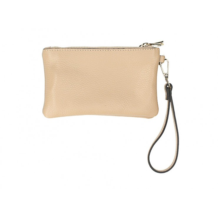 Genuine Leather shoulder bag Dollar 1229 camel Made in Italy