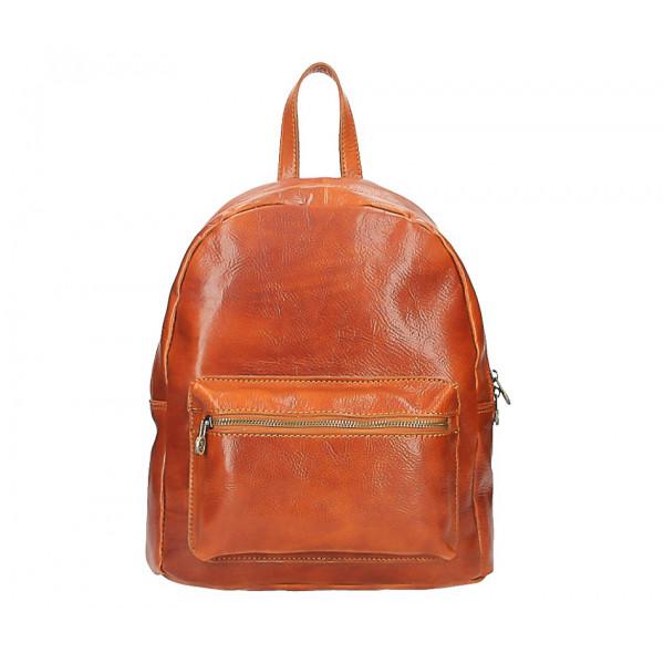 Kožený batoh 5340 koňakový