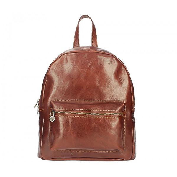 Kožený batoh 5340 hnedý