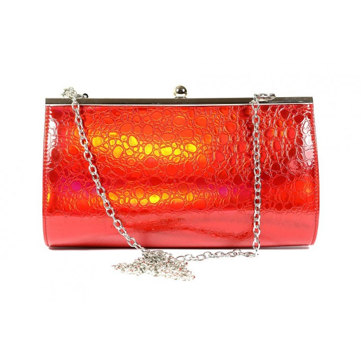 Woman Evening Handbag 1150G red Dudlin