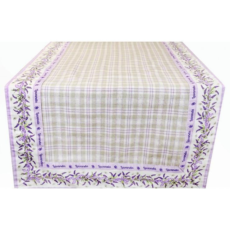 Behúň na stôl levanduľa