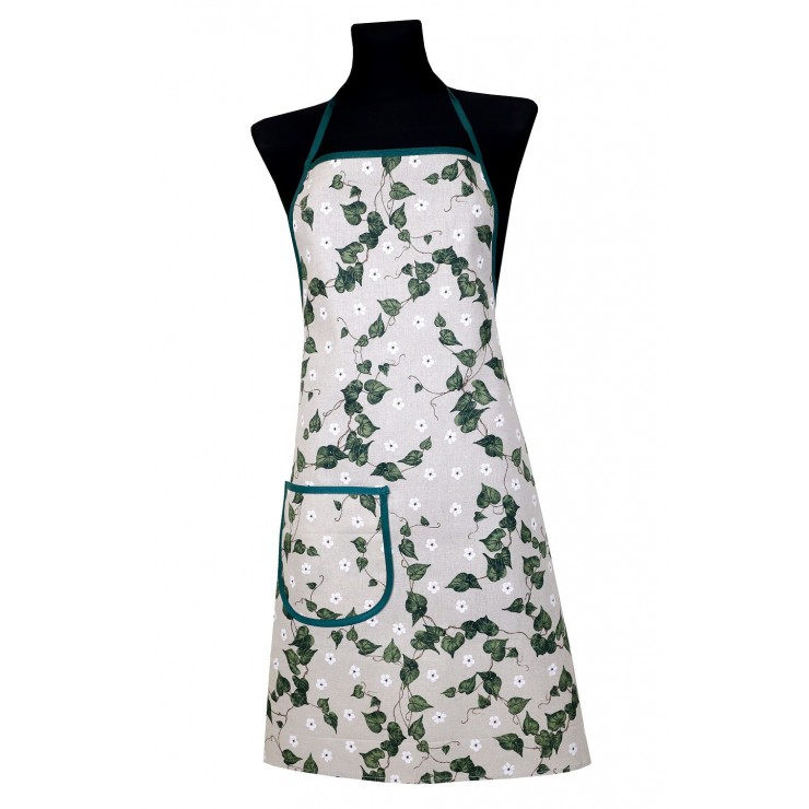 Kitchen apron 914 Ivy Made in Italy