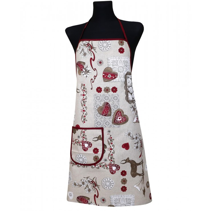 Kitchen apron 914 Tirol Made in Italy