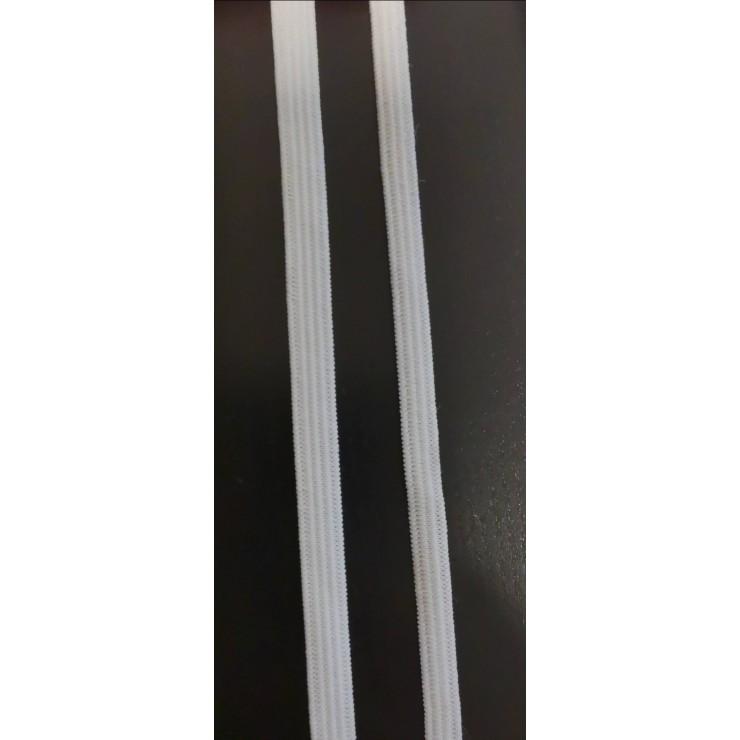Guma prádlová biela, šírka 5 mm