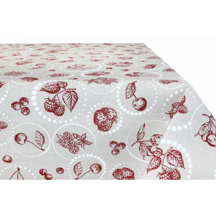 Cotton tablecloth 759OVK Made in Italy