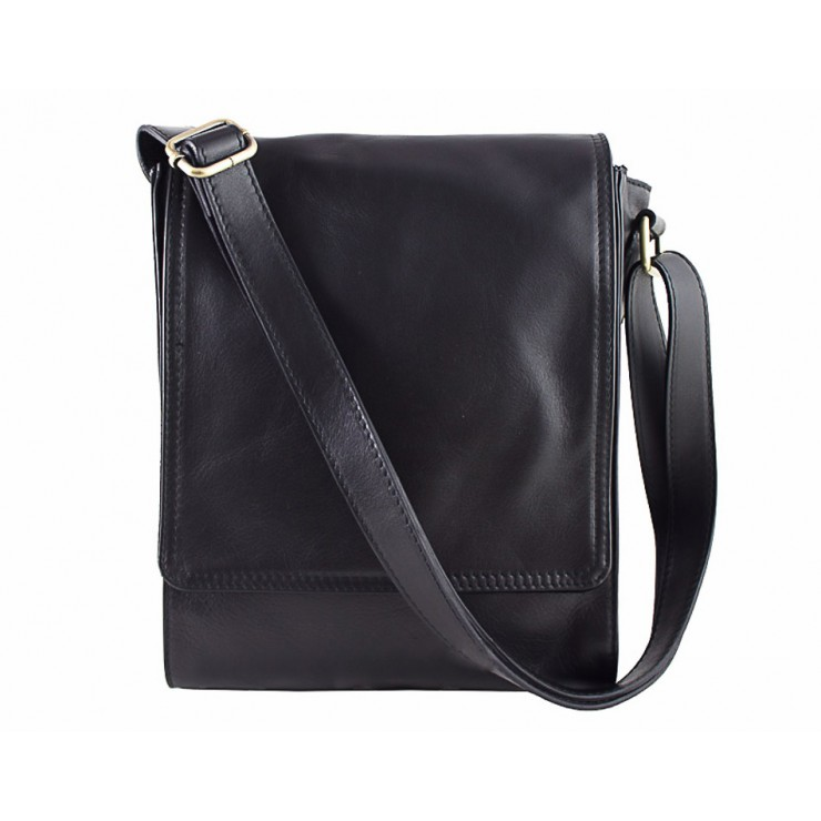 Leather Strap bag 504 black