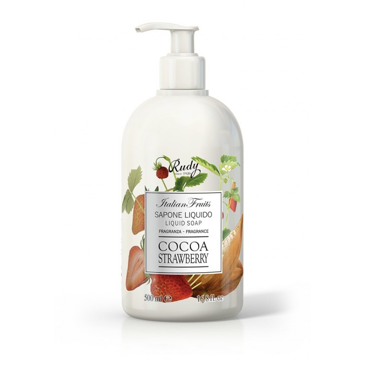 Rudy Profumi Liquid soap Fruits Cocoa and strawberries 500 ml