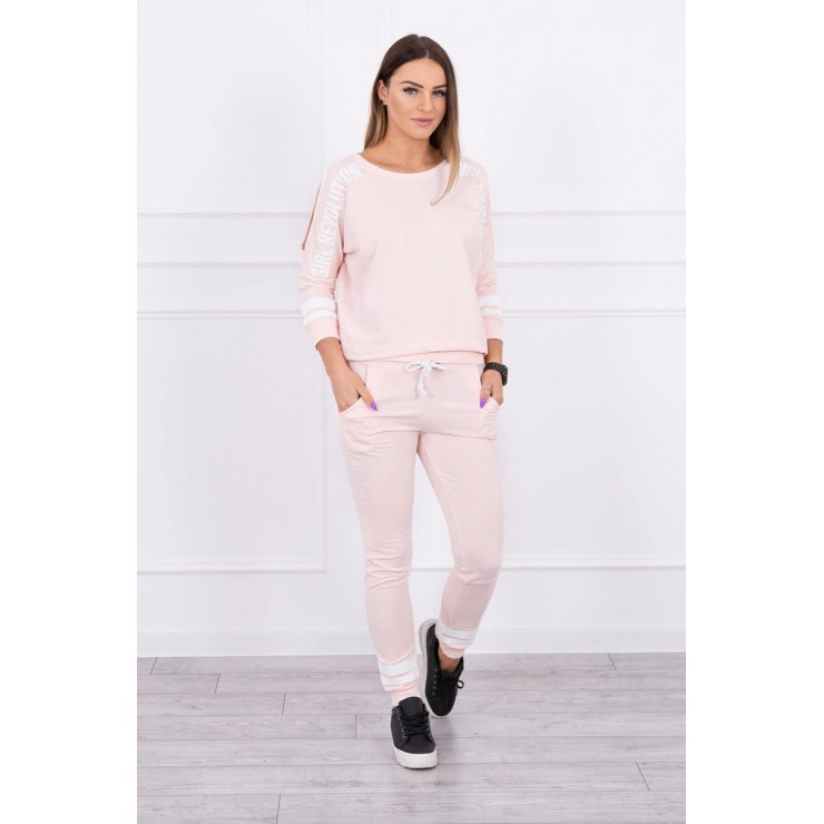 Women's set MI8849 Girl Revolution powder pink