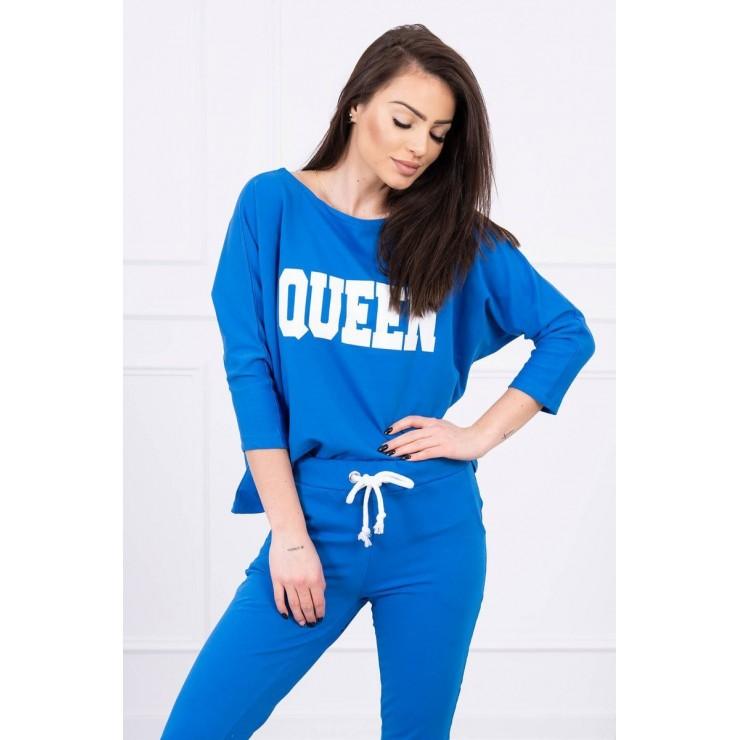 Women's set MI66977 QUEEN blue