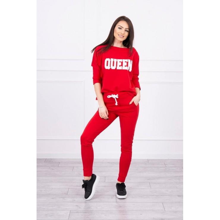 Women's set MI66977 QUEEN red
