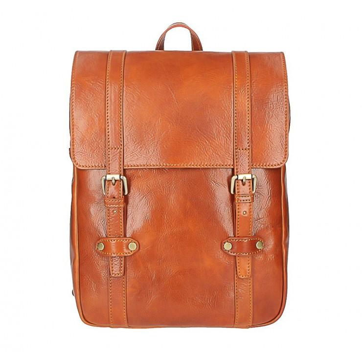Kožený batoh MI233 koňakový