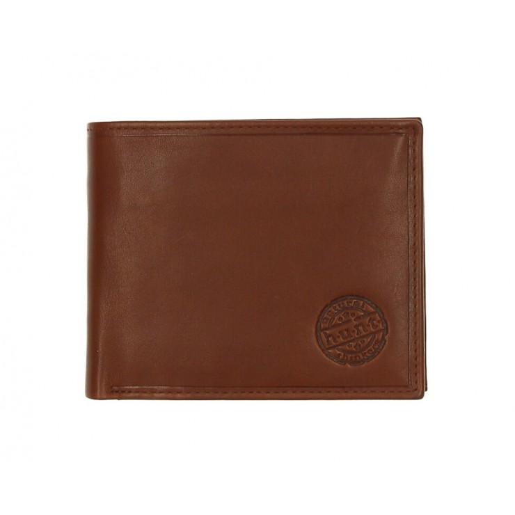 Pánska kožená peňaženka 238 koňak