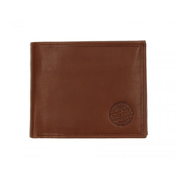 Pánska kožená peňaženka 238 koňak Koňak